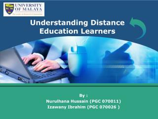 Understanding Distance Education Learners