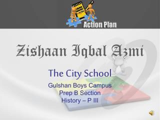 Zishaan Iqbal Azmi