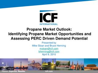 Propane Market Outlook:  Identifying Propane Market Opportunities and Assessing PERC Driven Demand Potential