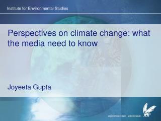 Institute for Environmental Studies