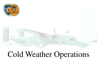 Cold Weather Operations