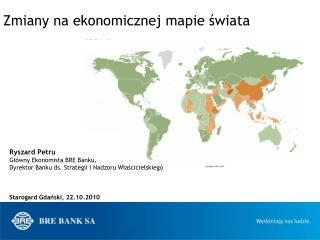 Zmiany na ekonomicznej mapie świata