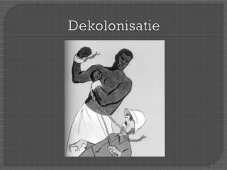 Dekolonisatie