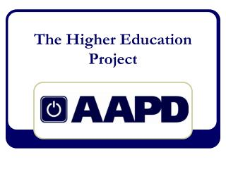 The Higher Education Project