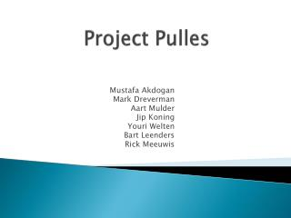 Project  Pulles