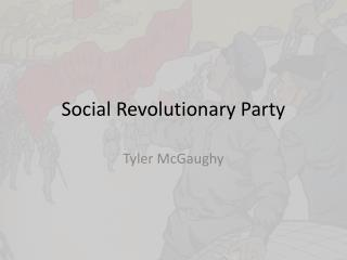 Social Revolutionary Party
