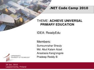 .NET Code Camp 2010
