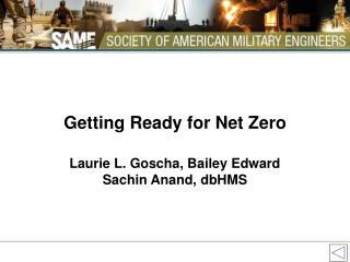 Getting Ready for Net Zero