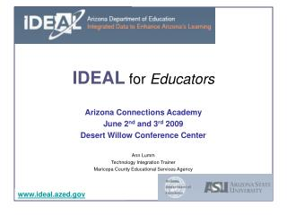 IDEAL  for  Educators