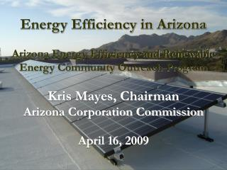 Energy Efficiency in Arizona