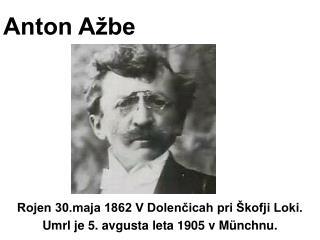 Anton Ažbe