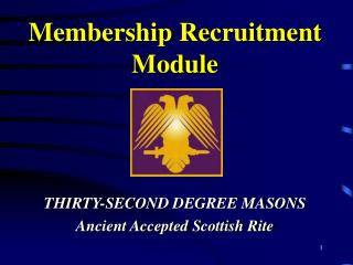 Membership Recruitment Module