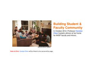 Building Student & Faculty Community