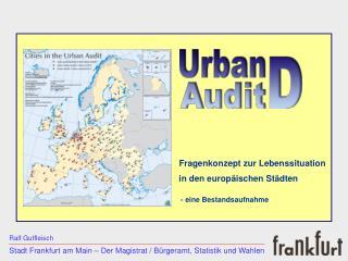 Stadt Frankfurt am Main � Der Magistrat / B�rgeramt, Statistik und Wahlen
