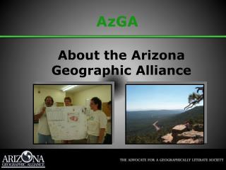 About the Arizona Geographic Alliance