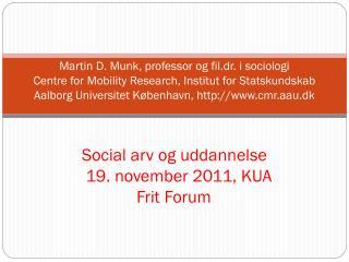 Agenda social arv