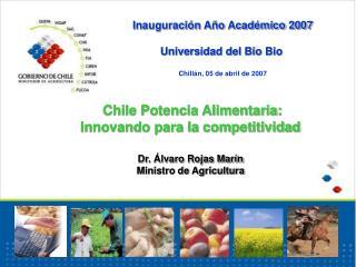 Inauguración Año Académico 2007 Universidad del Bio Bio Chillán, 05 de abril de 2007