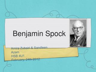 Benjamin Spock