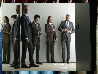 Designer Bespoke Suits Los Angeles