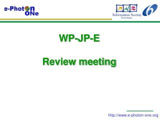 WP-JP-E  Review meeting