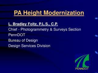 PA Height Modernization