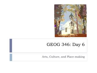 GEOG 346: Day 6