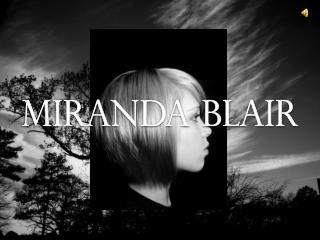 Miranda Blair