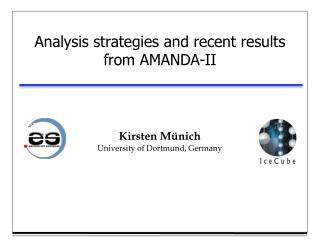 Analysis strategies and recent results from AMANDA-II