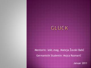 Gl�ck