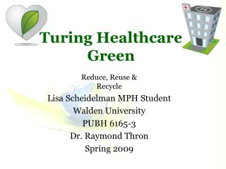 Turing Healthcare Green