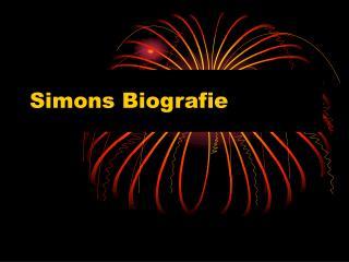 Simons Biografie