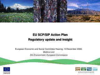 EU SCP/SIP Action Plan  Regulatory update and insight