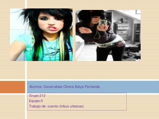 Alumna: Covarrubias Olvera Katya Fernanda