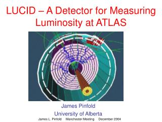 LUCID – A Detector for Measuring Luminosity at ATLAS
