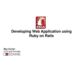 Developing Web Application using Ruby on Rails