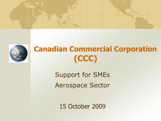 Canadian Commercial Corporation (CCC)