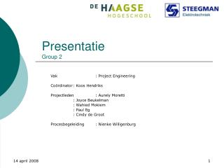 Presentatie Group 2