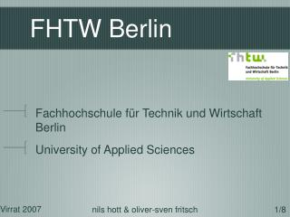 FHTW Berlin