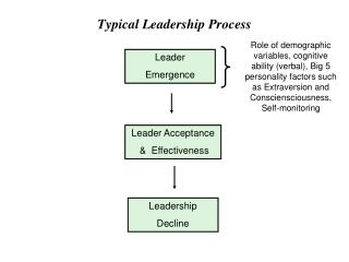 Typical Leadership Process