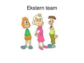 Ekstern team