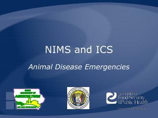 NIMS and ICS
