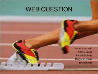 WEB QUESTION