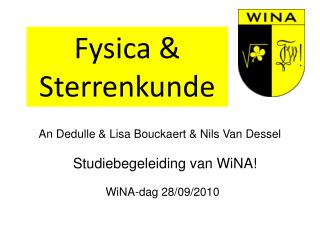 An Dedulle & Lisa Bouckaert & Nils Van Dessel