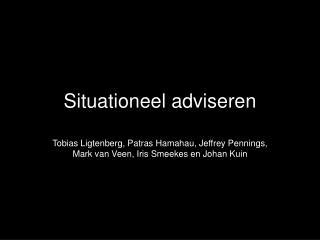 Situationeel adviseren