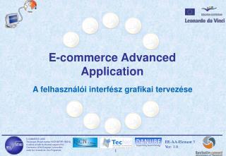 E-commerce Advanced Application