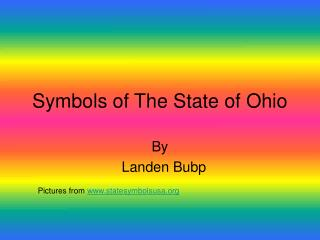 Symbols of The State of Ohio