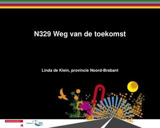N329 Weg van de toekomst Linda de Klein, provincie Noord-Brabant