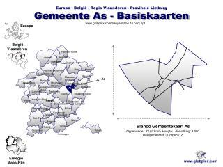 Gemeente As - Basiskaarten