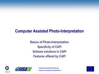 Computer Assisted Photo-Interpretation