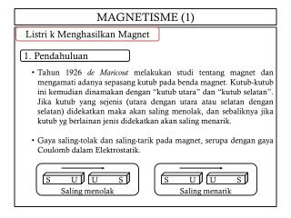 MAGNETISME (1)